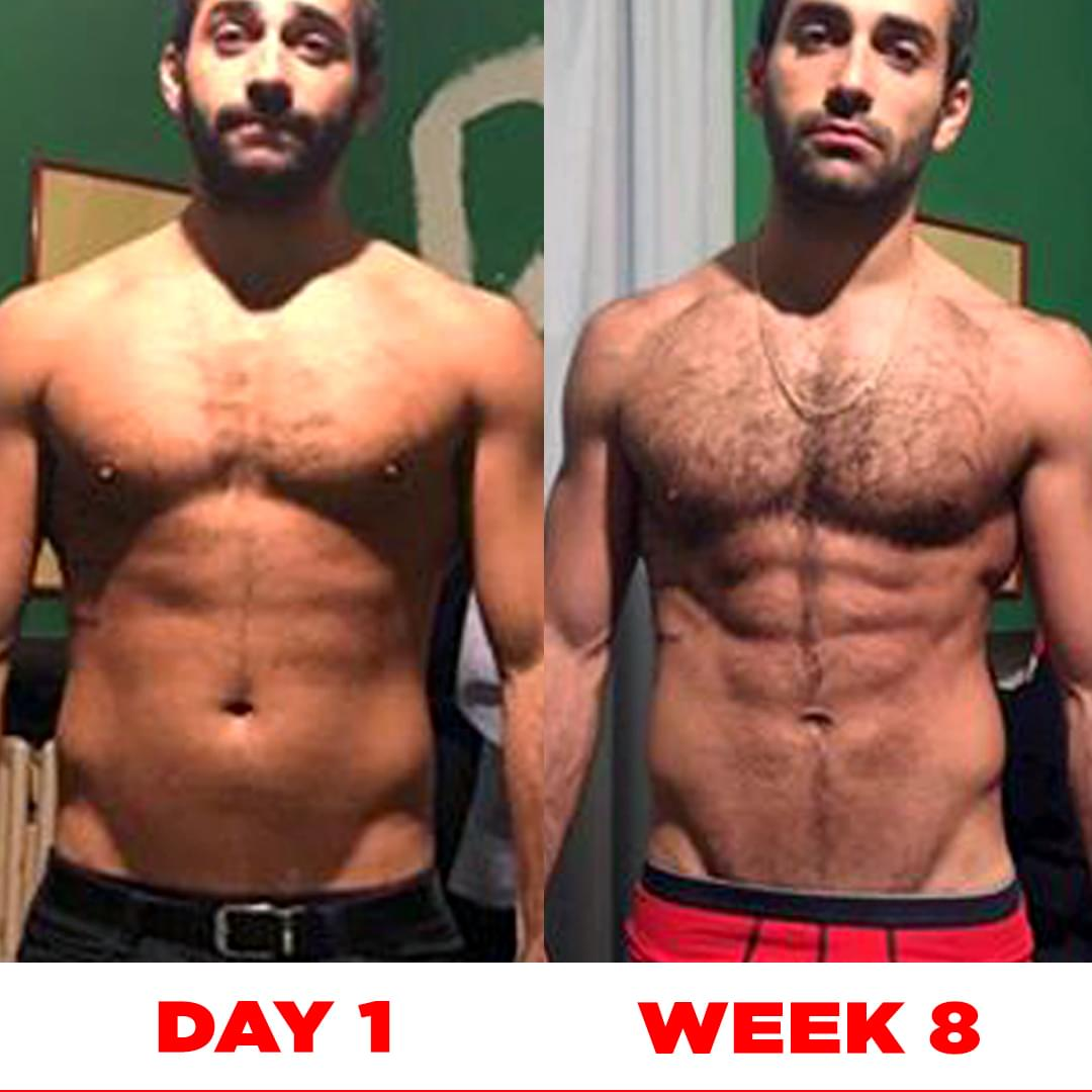 START NOW IN 8 WEEKS ACHIEVE RESULTS LIKE THIS